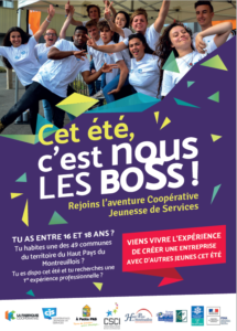 First youth cooperative of services in rural environment in the Haut de France