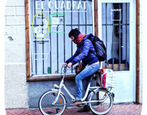 El Quadrat, coworking and exchance space
